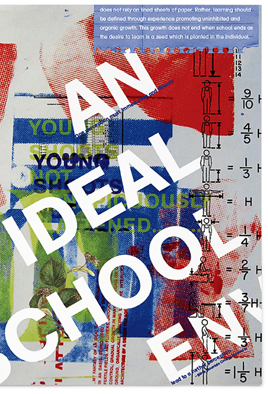 an ideal school My ideal school is a school quite unlike any school we've heard of this school consists of a large library and basic recreational facilities and that's all.