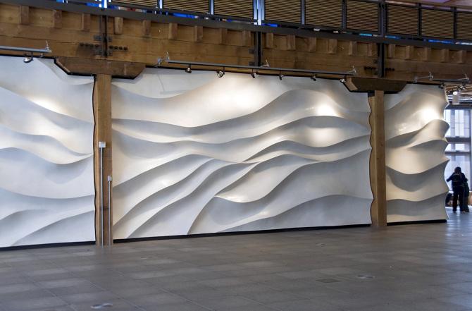 Popular Wave Wall - Susan Zoccola NH62