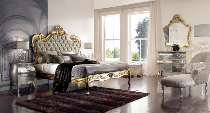 Regal bedroom d cor in modern houses joanna designs for Royal living room designs