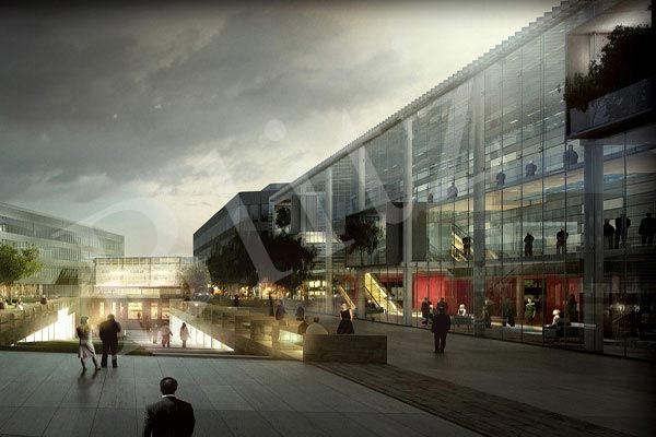 Exterior 3d Rendering Architectural 3d Studio